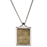 Star Wars | RockLove Imperial Credit Necklace - Yellow Gold