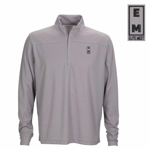 Elite Meet Herringbone 1/4 Zip - EliteMeetGear.us