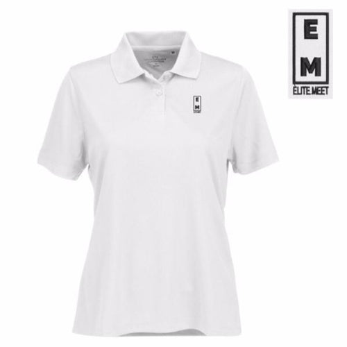 Women's Elite Meet Performance Polo - EliteMeetGear.us