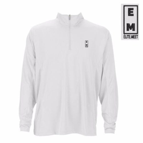 Elite Meet Men's Performance 1/4 Zip Pullover
