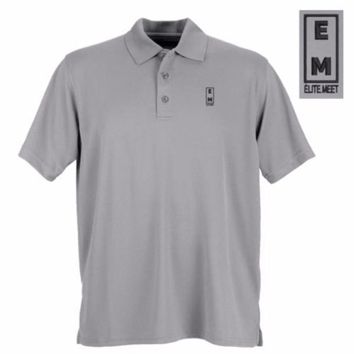 Elite Meet Men's Performance Polo - EliteMeetGear.us