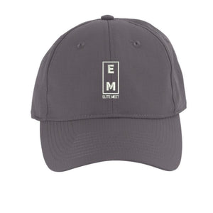 Grey Elite Meet Performance Hat