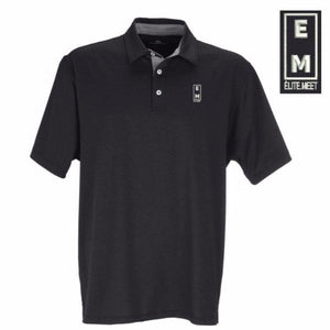 Men's Elite Meet Signature Polo - EliteMeetGear.us