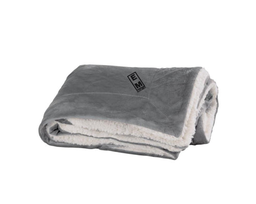 Elite Meet Faux Mink Sherpa Blanket