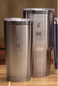 ELITE MEET STAINLESS TUMBLER - EliteMeetGear.us