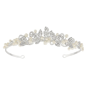 #7094 Exquisite 'Megan' pearl tiara