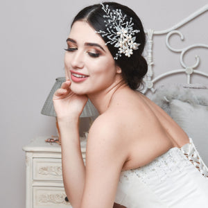 #7101 EXQUISITE PEARL HAIR CLIP By  Athena Bridal Jewellery