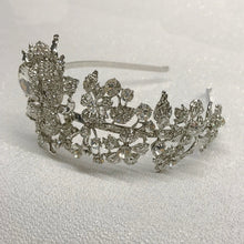 #7083  Statement Vintage inspired crystal hairband by Athena
