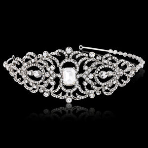 #7053 Vintage inspired crystal hairband by Athena