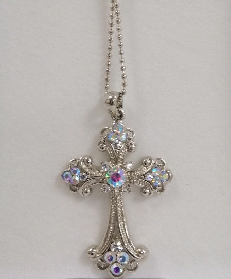 BBCROSS1 Stunning,  large diamante cross