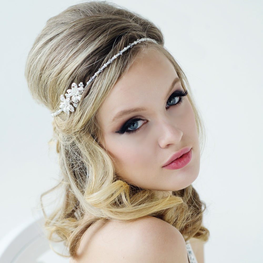 #7072 Vintage inspired Larissa headpiece  by SASSB