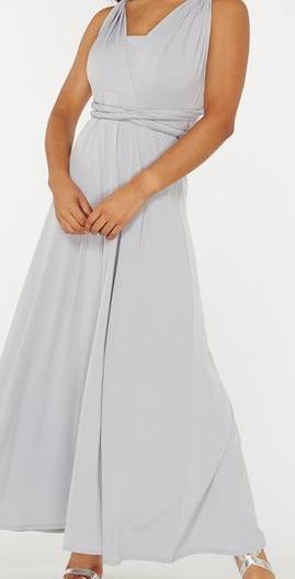 Grey multiway bridesmaid dress on clearance $49. size 16 and size18
