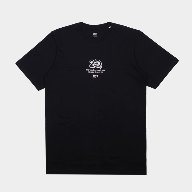 N99 BLACK BASIC TSHIRT - Badger Invaders