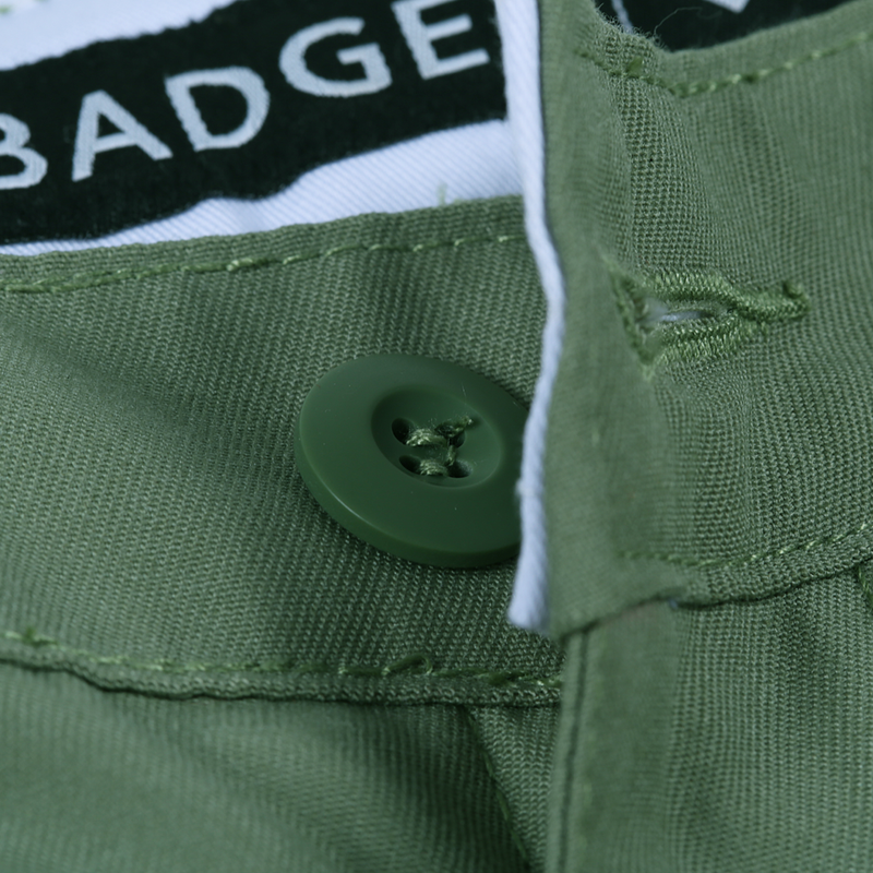 BJHONES EXPOSED POCKET CHINO PANTS - Badger Invaders