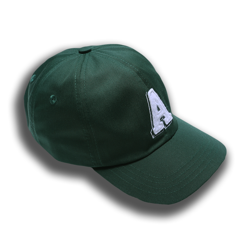 A INITIAL HAT GREEN - Badger Invaders