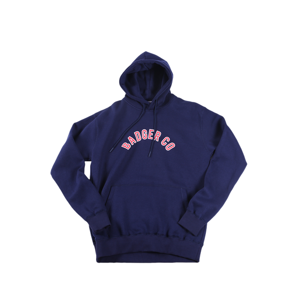 ADGIEBLUE PULL OVER HOODIE - Badger Invaders