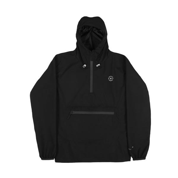 ANBRUGH BLACK ANORAK JACKET