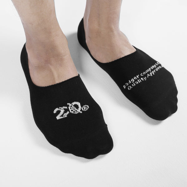 NITO BLACK HIDDEN SOCKS