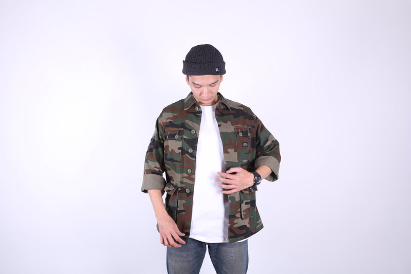 LOR-AM CAMO OUTER JACKET - Badger Invaders