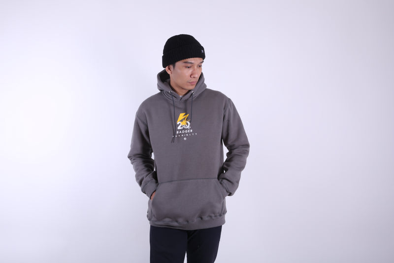 BRAIN PULLOVER HOODIE SWEATER - Badger Invaders