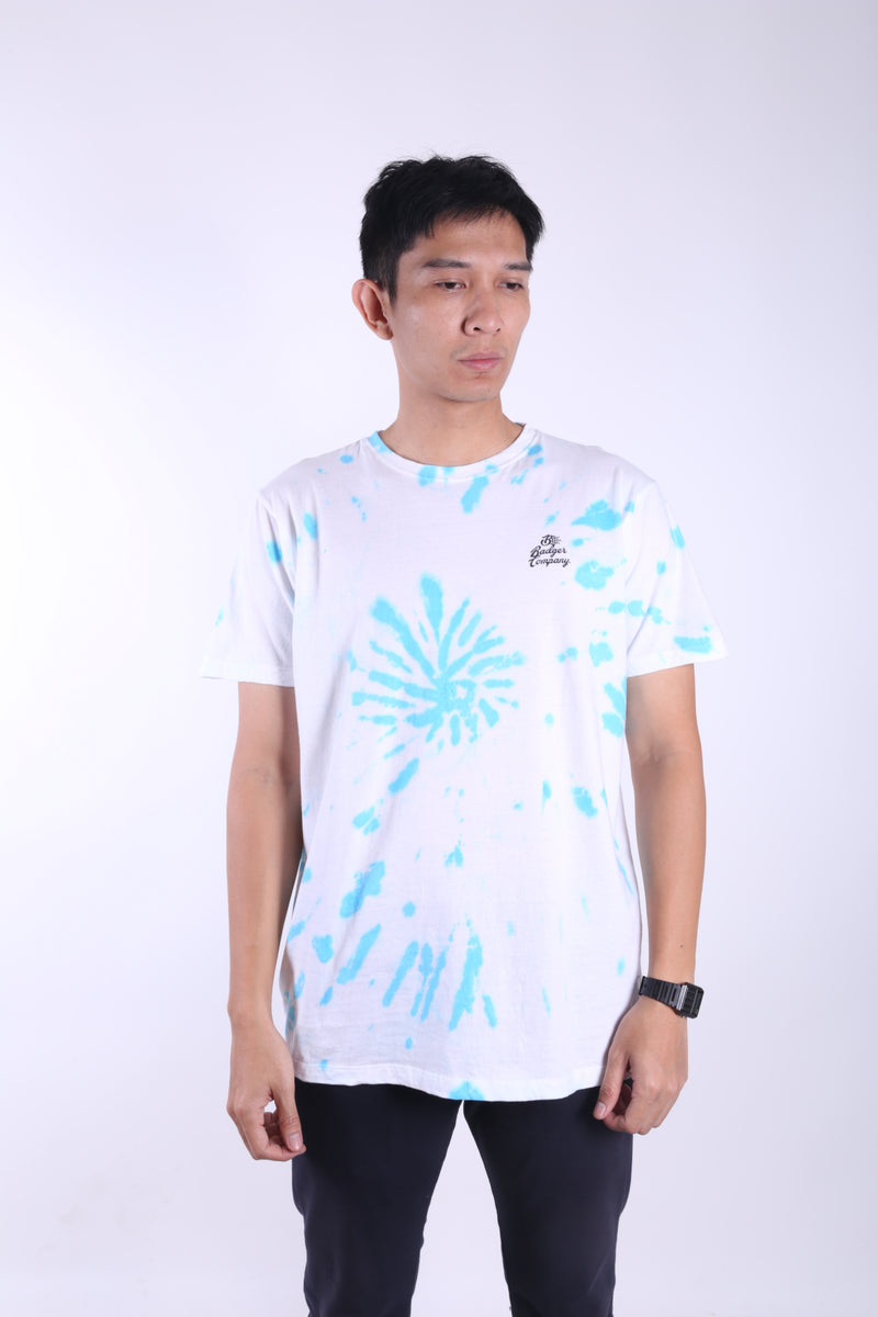 WOODSTOCK BLUE TIE DYE TSHIRT - Badger Invaders