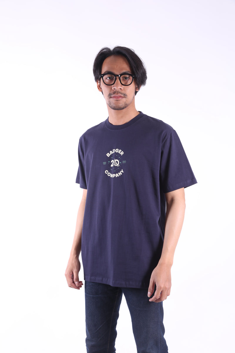 SPLATBG NAVY BASIC TSHIRT - Badger Invaders