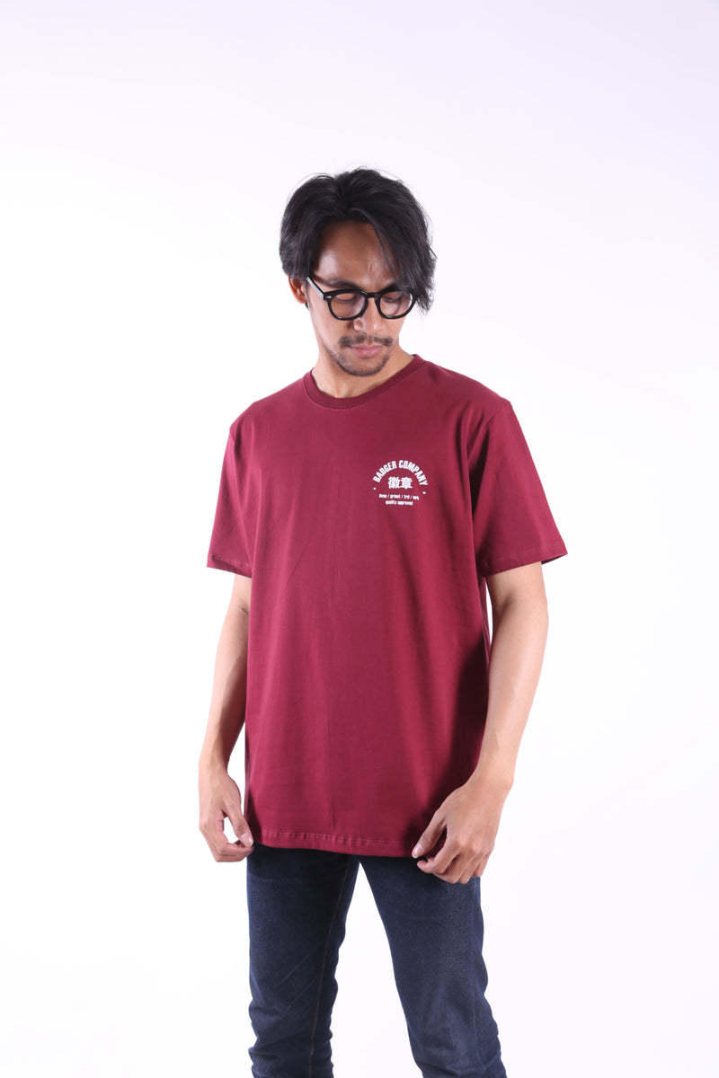CHINTYPE MAROON LIMITED ISSUE TSHIRT - Badger Invaders