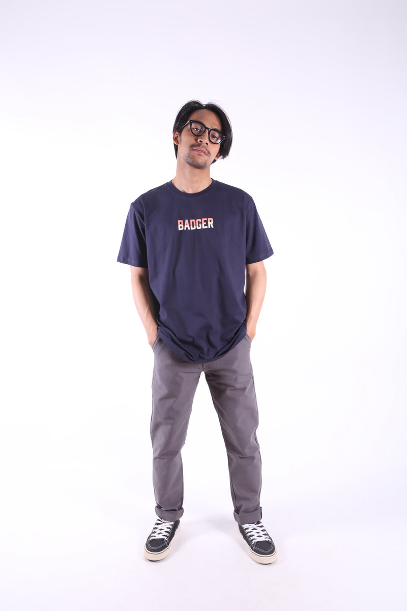 PHASE NAVY BASIC TSHIRT - Badger Invaders