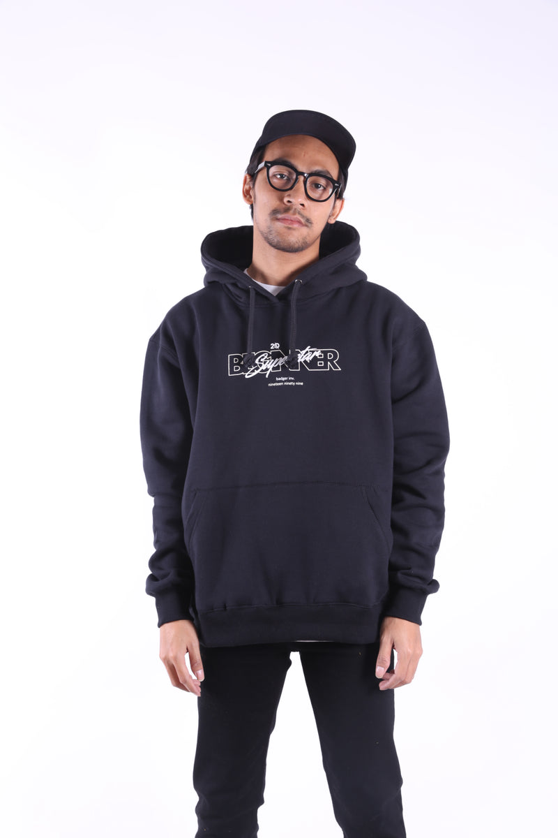 ANOTHER SIGN SW BLACK PULL OVER HOODIE - Badger Invaders