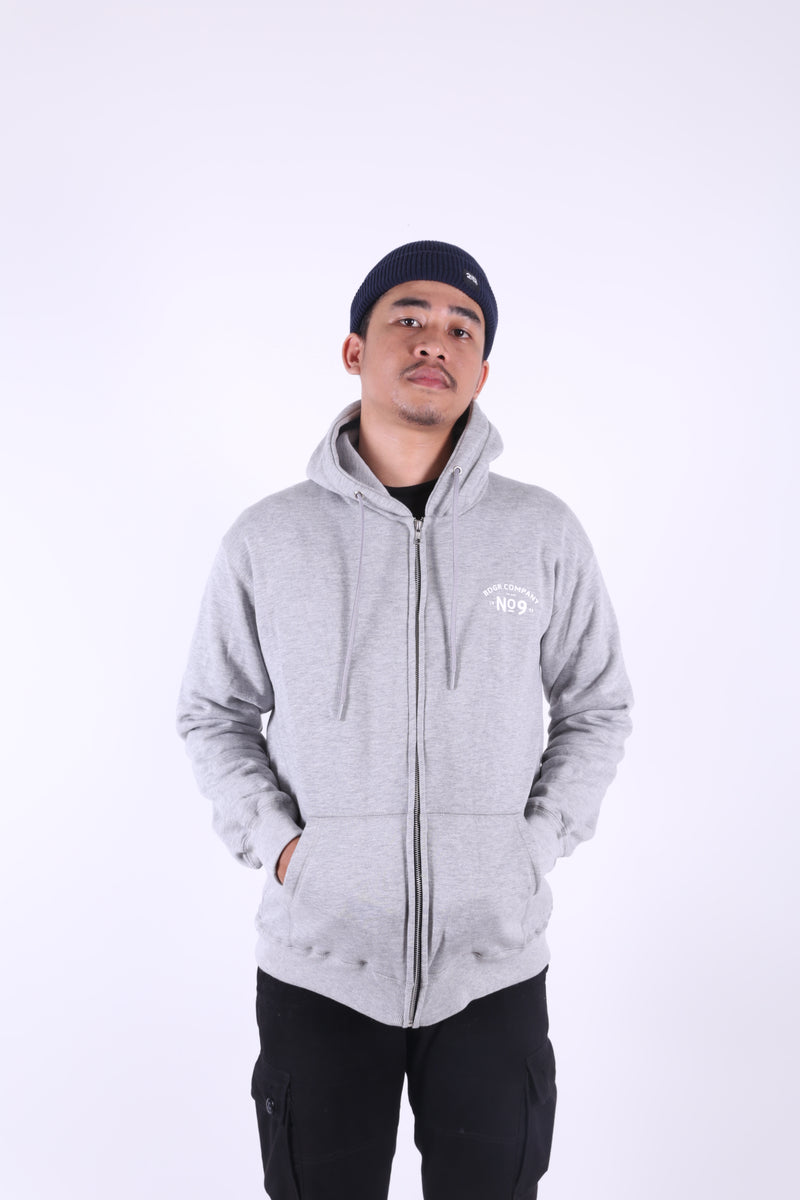 ACS GREY FL MISTY ZIPPER HOODIE - Badger Invaders