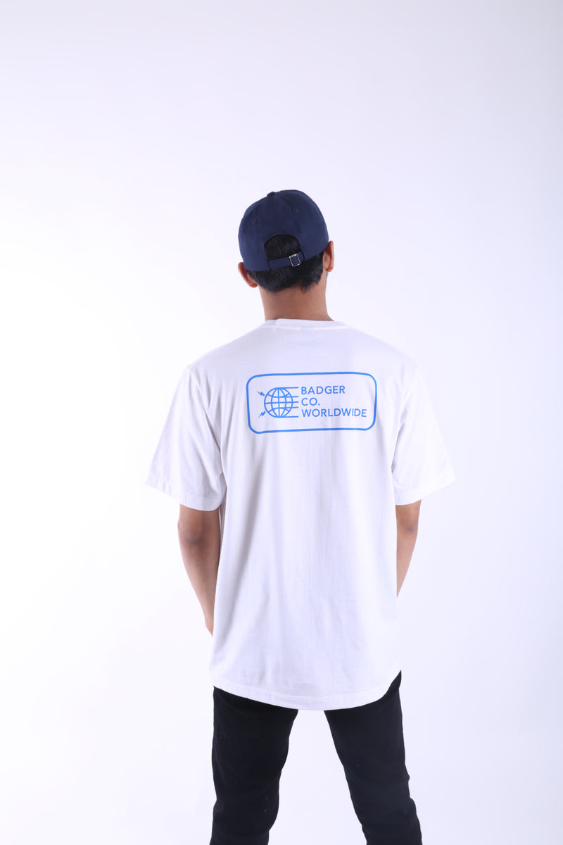 CAPT WHITE BASIC TSHIRT - Badger Invaders