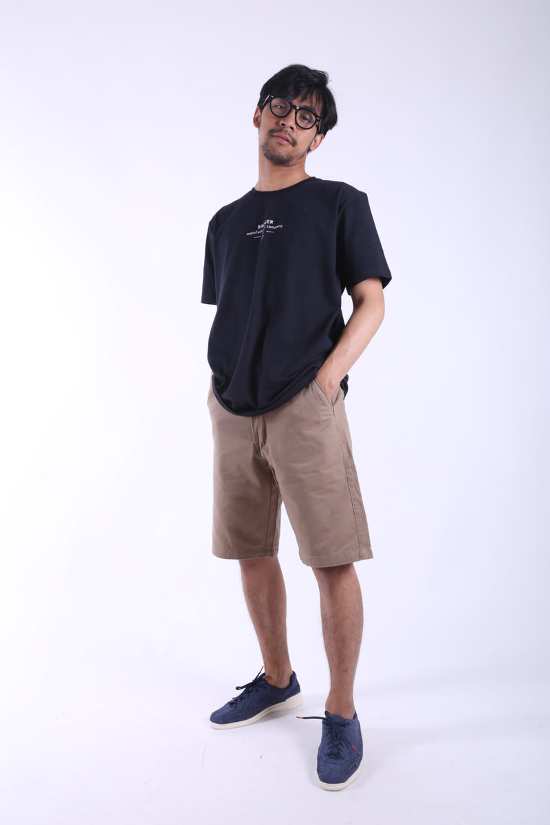 POINTCHINOS KHAKI CHINO SHORT PANTS - Badger Invaders