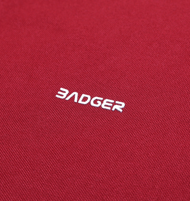 FONTNAS MAROON BASIC POLO SHIRT - Badger Invaders