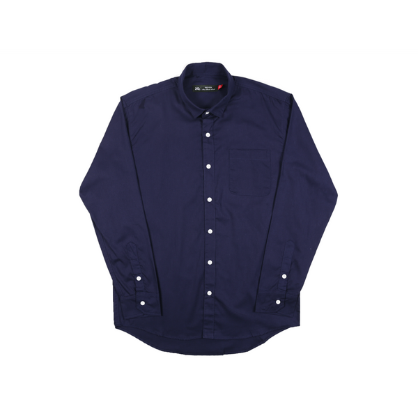 TWLONG NAVY SHIRT