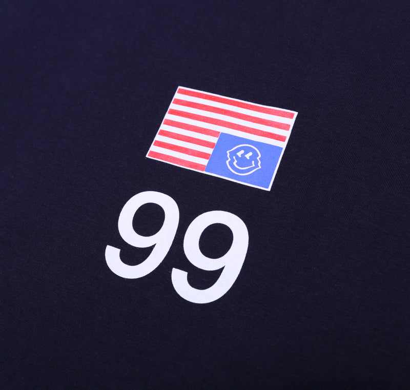 NATION OF 99 NAVY BASIC TSHIRT - Badger Invaders