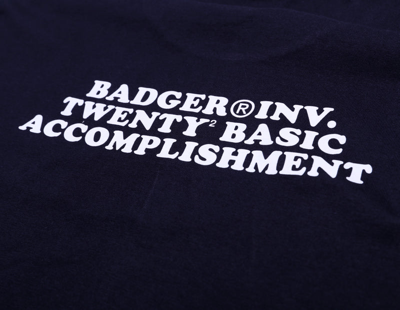 BA NATION LS NAVY LONG SLEEVE TSHIRT - Badger Invaders