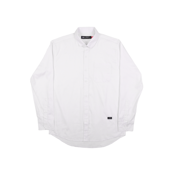 TWLONG WHITE SHIRT