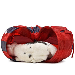 Collapsible Cat Play Tunnel