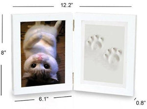 Cat Paw Print Imprint Kit Dimensions