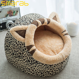 Removable Cat Bed House Kennel Nest Pet Nest Litter Dog Kennel Sofa House Cushion Animals Supplies Cat Pet Products kitten bed