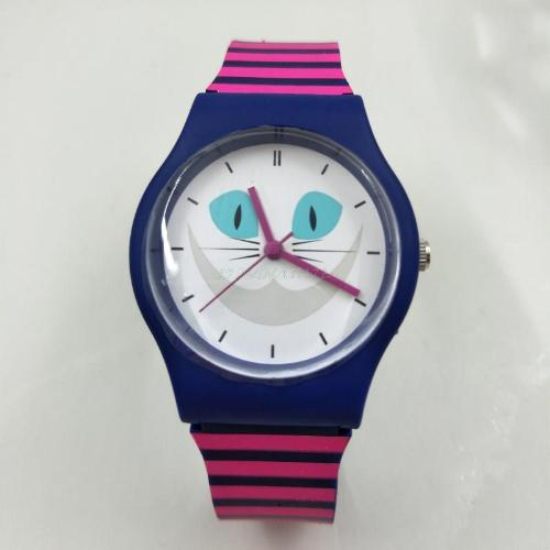 Cat Cartoon Sports Wristwatch