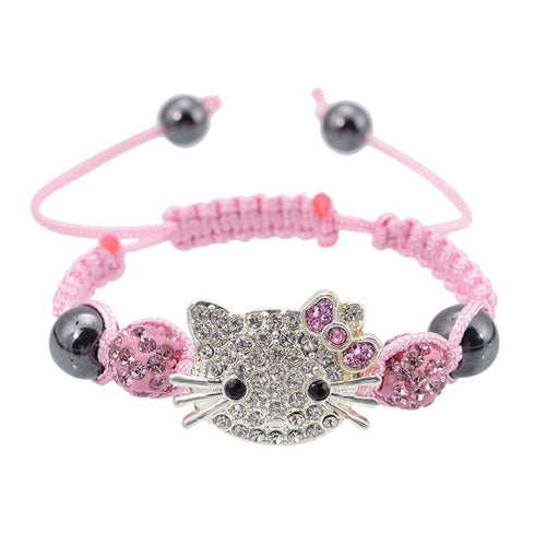 Handmade Cute Children Cat Hello Kitty Bracelet