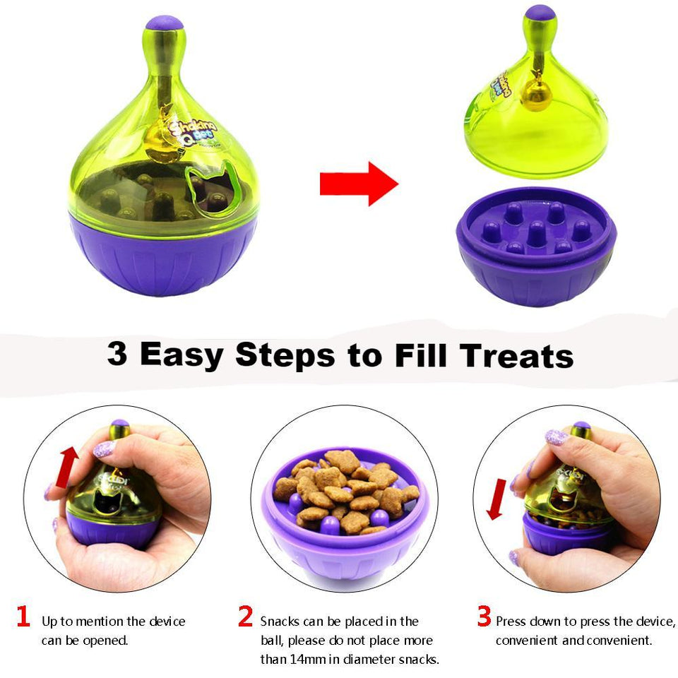 Smart Cat Treat Ball Toy - User Guide