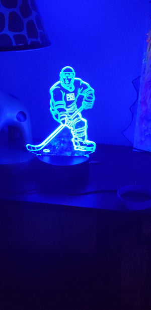 PenaltyBox Hockey Night Light