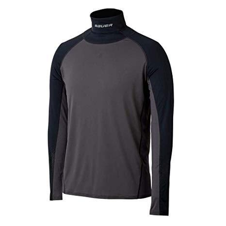 Bauer L/S Neck Protect (Youth) Shirt