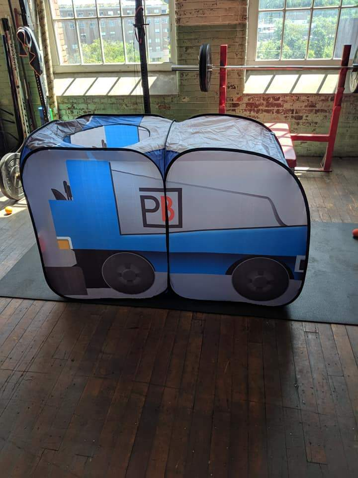 PenaltyBox Pop Up Tent