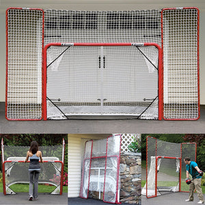 EZ Goal Hockey Net w/ Targets and Backstop *Free Shipping*