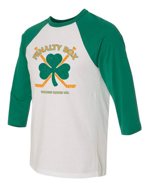 St Patricks Day Raglans