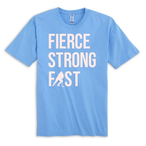 Fierce Strong Fast Hockey Girl Shirt
