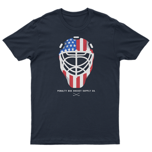 USA Goalie Helmet Tee